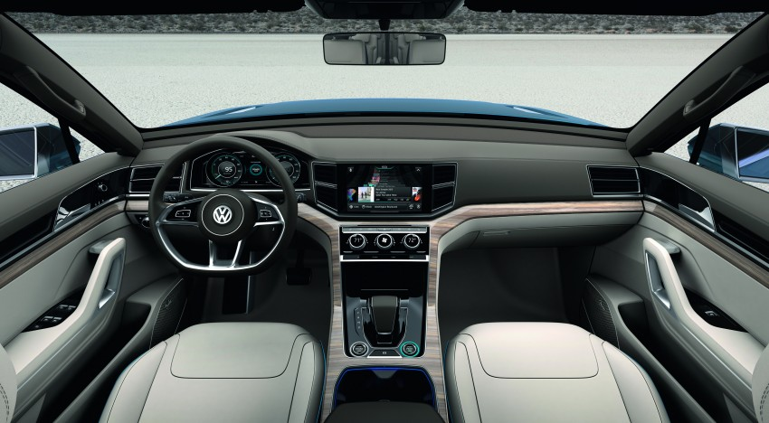 Volkswagen CrossBlue Concept: MQB-based 7-seater Image #149726