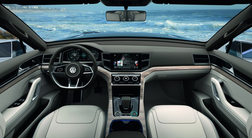 Volkswagen CrossBlue Concept: MQB-based 7-seater Image #149723