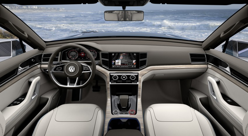 Volkswagen CrossBlue Concept: MQB-based 7-seater Image #149739