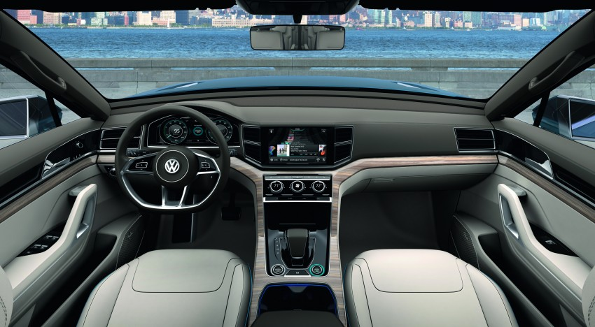 Volkswagen CrossBlue Concept: MQB-based 7-seater Image #149720