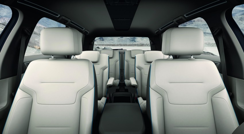 Volkswagen CrossBlue Concept: MQB-based 7-seater Image #149728