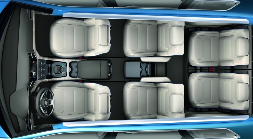 Volkswagen CrossBlue Concept: MQB-based 7-seater Image #149711