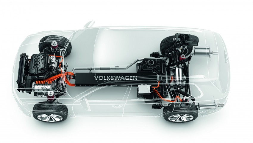 Volkswagen CrossBlue Concept: MQB-based 7-seater Image #149706