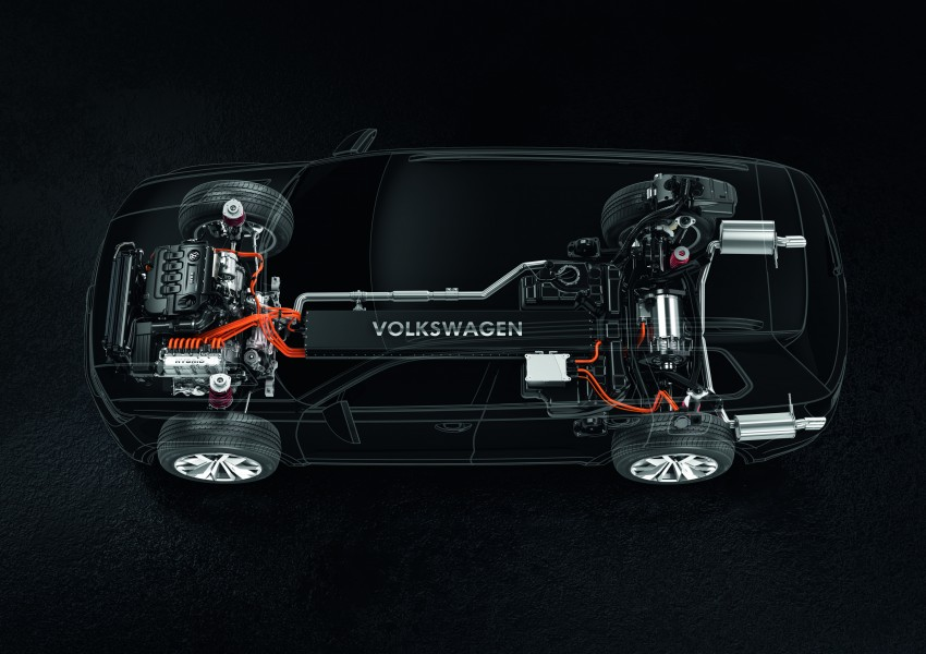 Volkswagen CrossBlue Concept: MQB-based 7-seater Image #149701