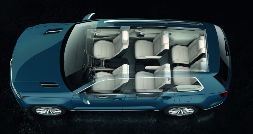 Volkswagen CrossBlue Concept: MQB-based 7-seater Image #149703