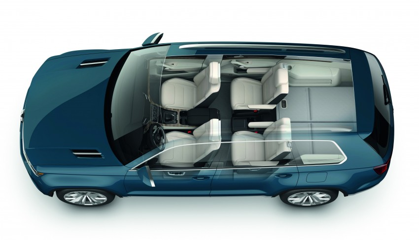 Volkswagen CrossBlue Concept: MQB-based 7-seater Image #149708