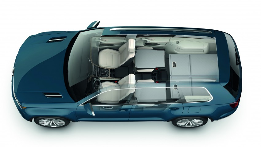 Volkswagen CrossBlue Concept: MQB-based 7-seater Image #149709