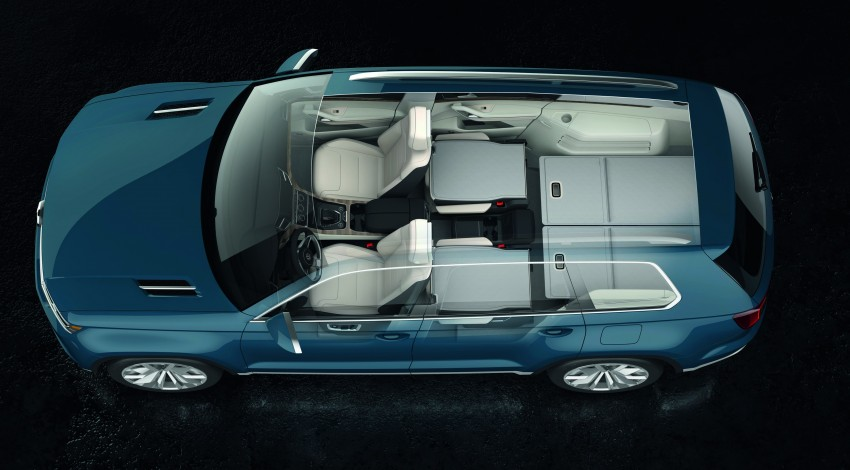 Volkswagen CrossBlue Concept: MQB-based 7-seater Image #149704