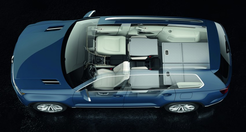 Volkswagen CrossBlue Concept: MQB-based 7-seater Image #149698