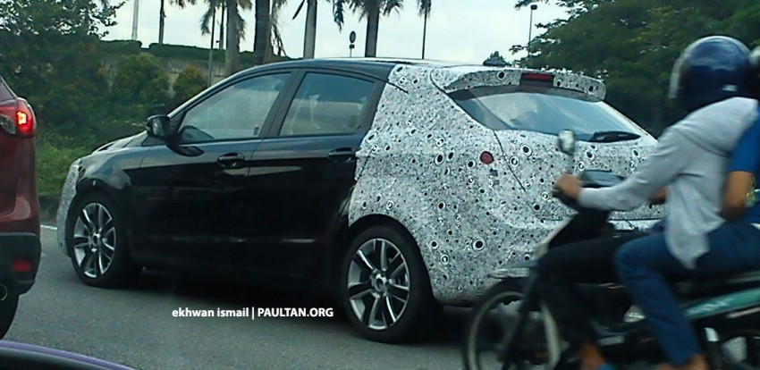 SPIED: Best view of the Proton Prevé hatchback yet! Image #149012