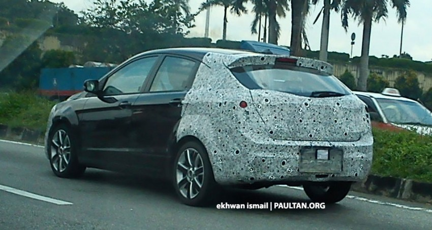 SPIED: Best view of the Proton Prevé hatchback yet! Image #149013