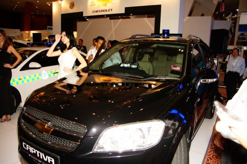 Naza Quest Also Provided A Total Of 60 Chevy Captivas For Use As The Official Car Vips Guests And International Delegates At Event