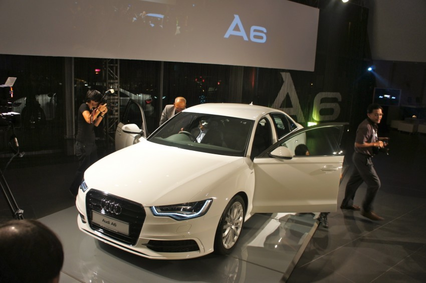 Audi A6 3.0L TFSI quattro launched in Malaysia – RM515k! Image #67930