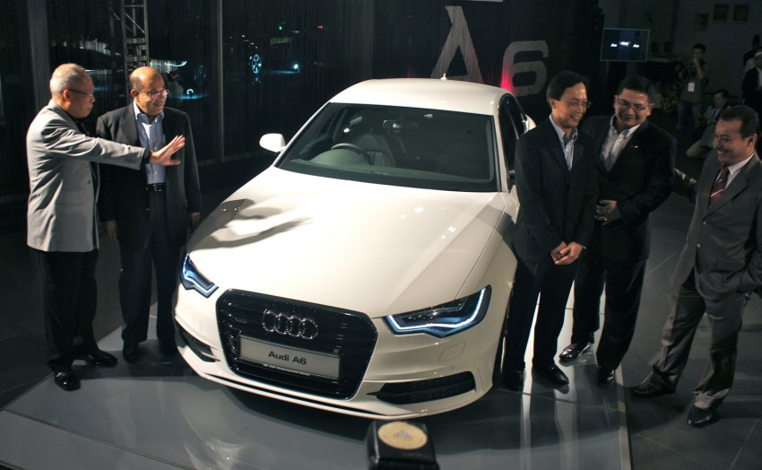 Audi A6 3.0L TFSI quattro launched in Malaysia – RM515k! Image #67933