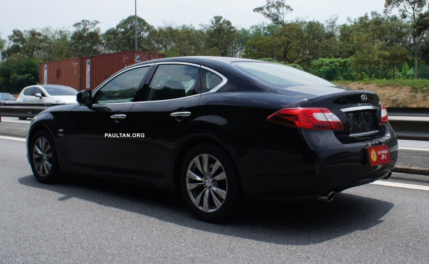 SPIED: Infiniti M35h Hybrid being tested by JPJ! Image #95833