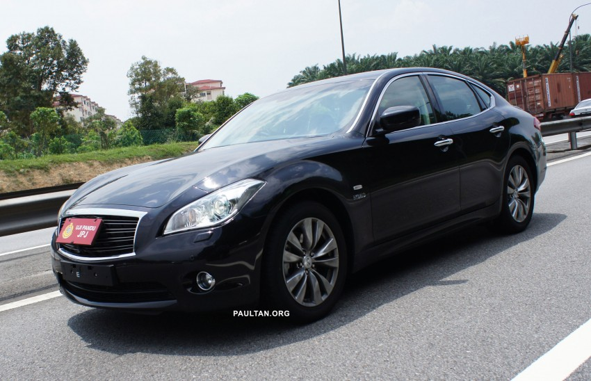 SPIED: Infiniti M35h Hybrid being tested by JPJ! Image #95834