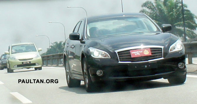 SPIED: Infiniti M35h Hybrid being tested by JPJ! Image #95835
