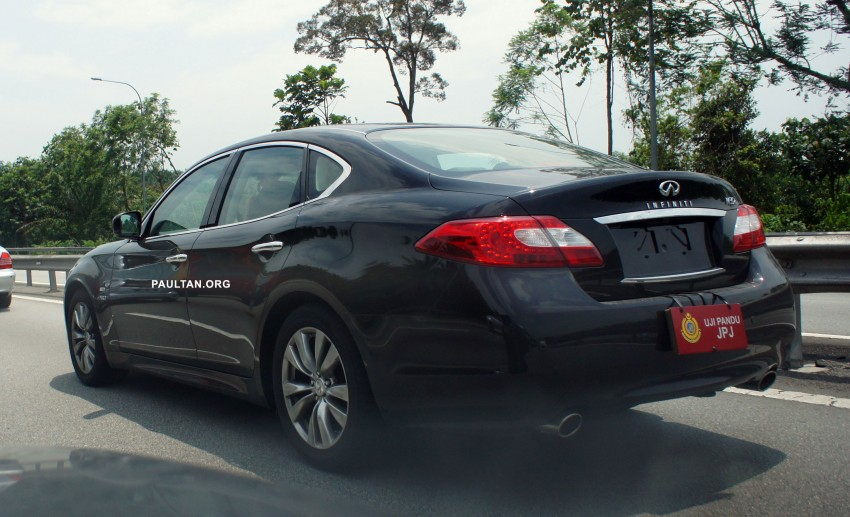 SPIED: Infiniti M35h Hybrid being tested by JPJ! Image #95836