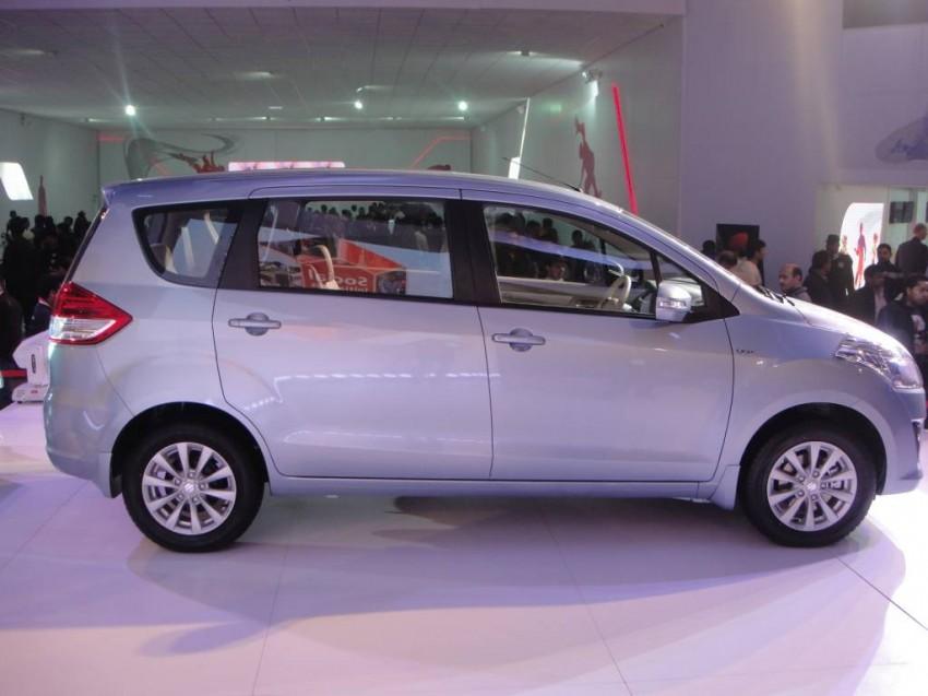 Maruti Suzuki Ertiga MPV debuts at Delhi Auto Expo 2012 Image #82792