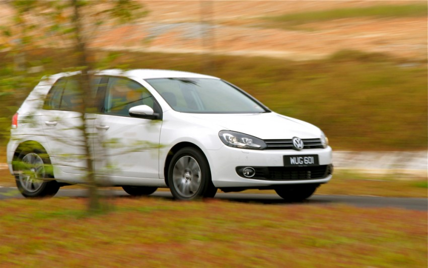 Volkswagen Golf 1.4 TSI Test Drive Review Image #66607