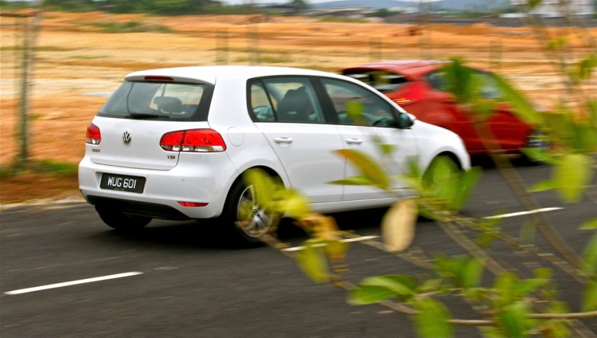 Volkswagen Golf 1.4 TSI Test Drive Review Image #66609