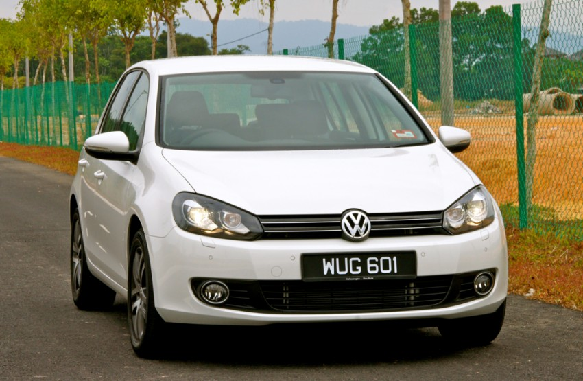 Volkswagen Golf 1.4 TSI Test Drive Review Image #66614