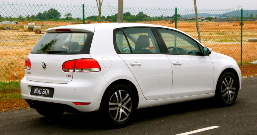 Volkswagen Golf 1.4 TSI Test Drive Review Image #66620
