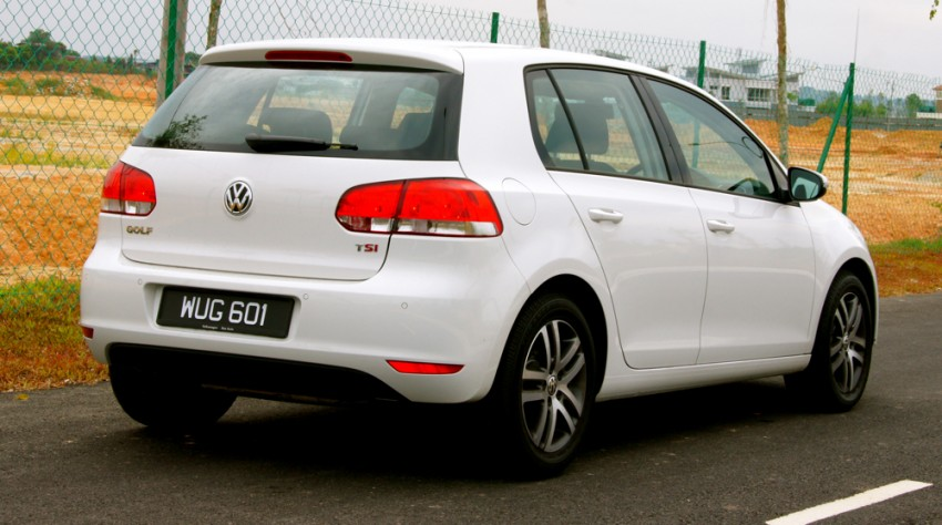 Volkswagen Golf 1.4 TSI Test Drive Review Image #66621