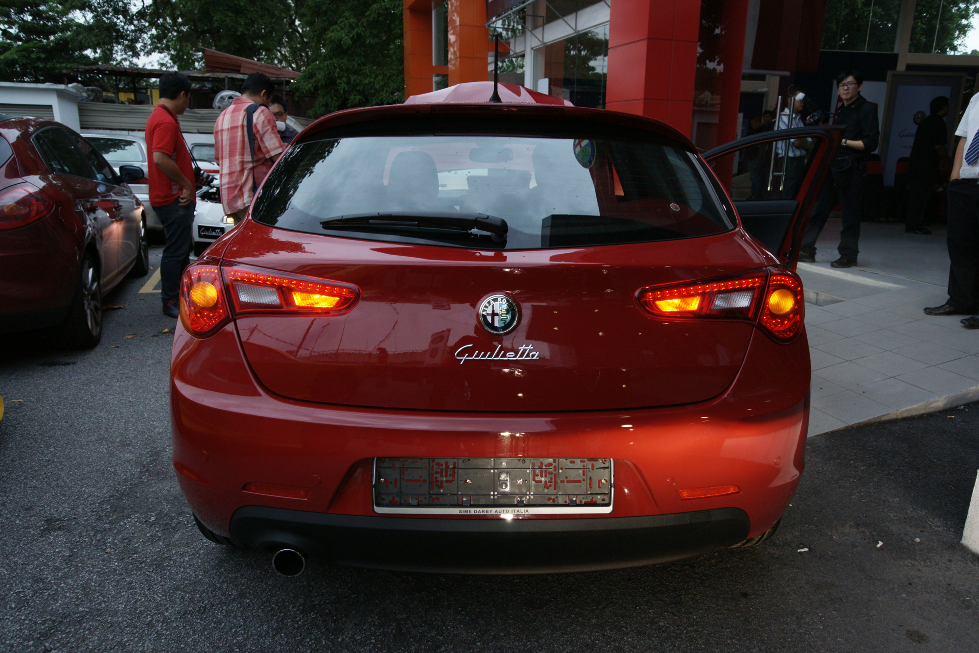 alfa romeo giulietta 1 4 tb multiair 170 hp rm178 888. Black Bedroom Furniture Sets. Home Design Ideas