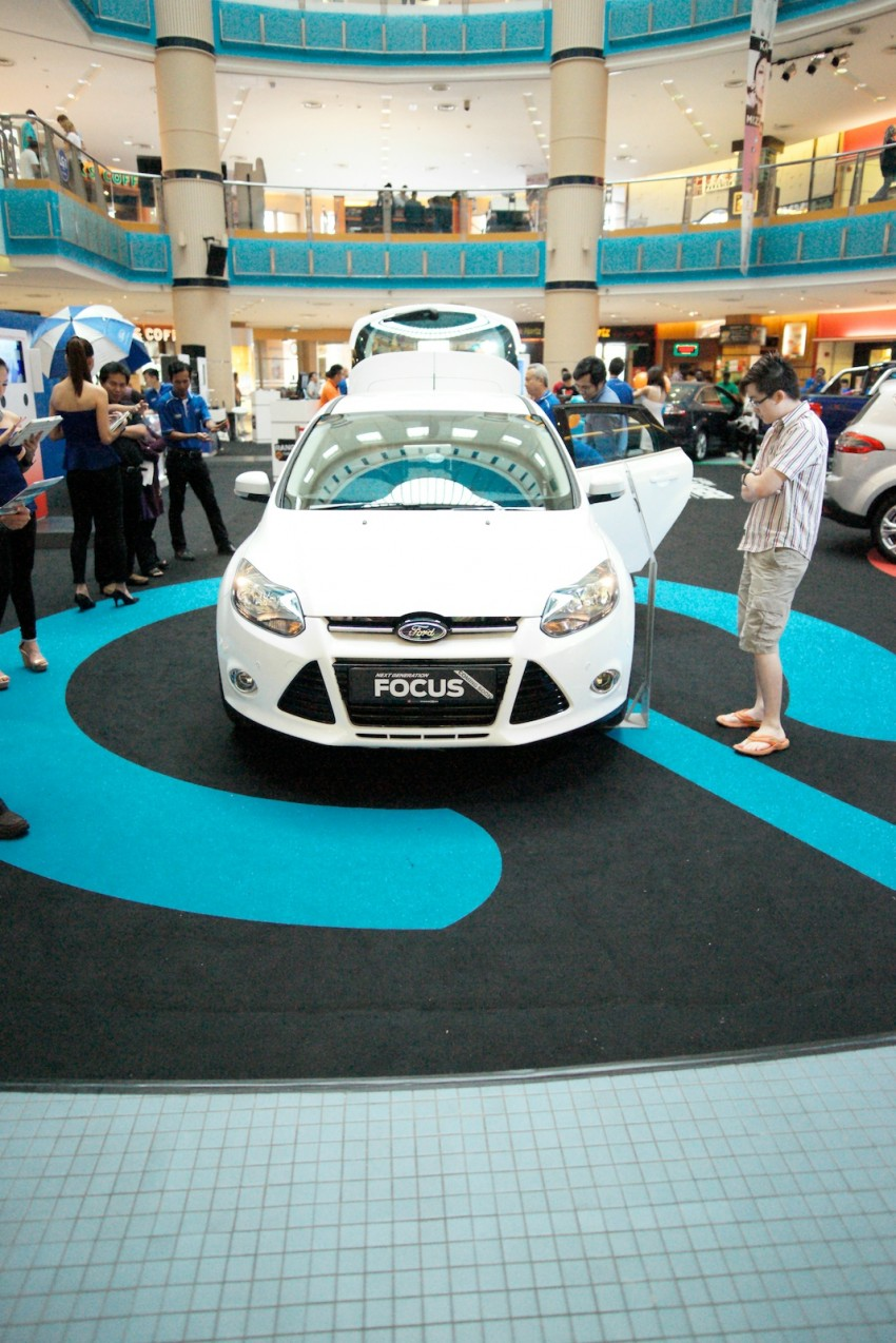 Ford Focus on show at Sunway Pyramid, now open for registration with a chance to win a new car Image #117202