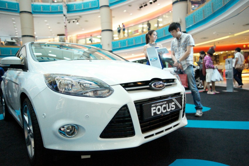 Ford Focus on show at Sunway Pyramid, now open for registration with a chance to win a new car Image #117220