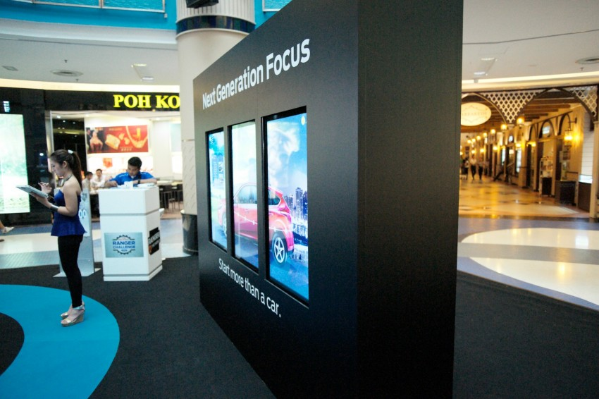 Ford Focus on show at Sunway Pyramid, now open for registration with a chance to win a new car Image #117240