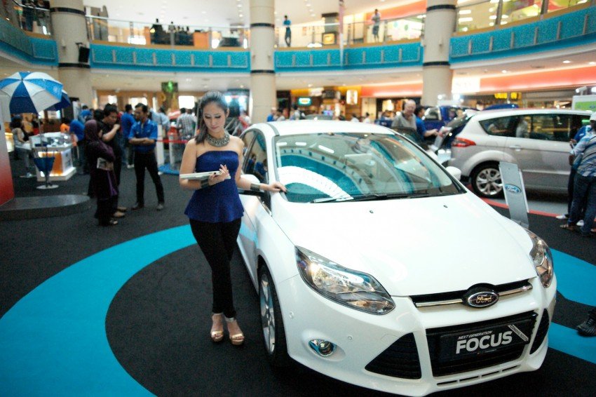 Ford Focus on show at Sunway Pyramid, now open for registration with a chance to win a new car Image #117245