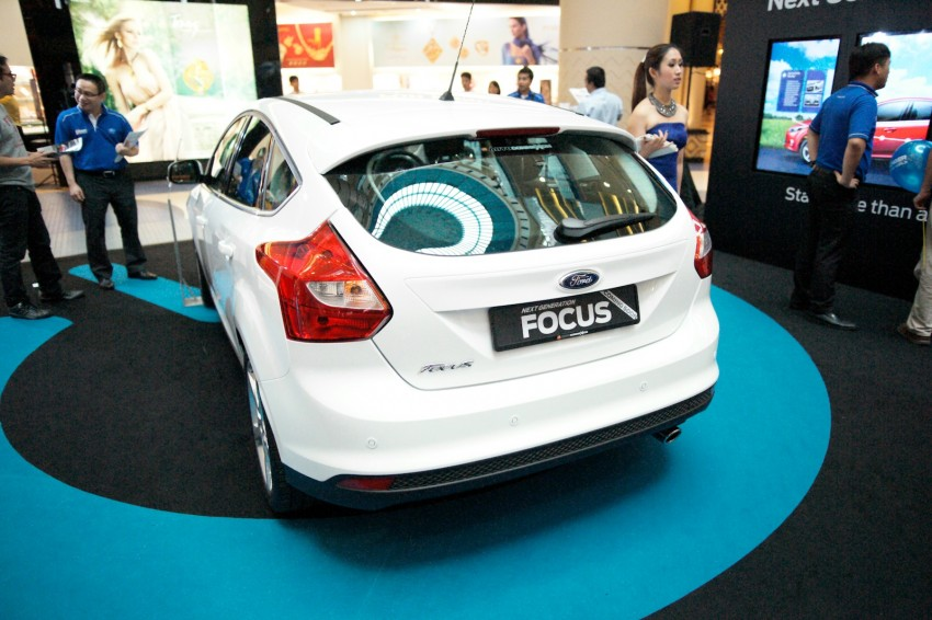 Ford Focus on show at Sunway Pyramid, now open for registration with a chance to win a new car Image #117247