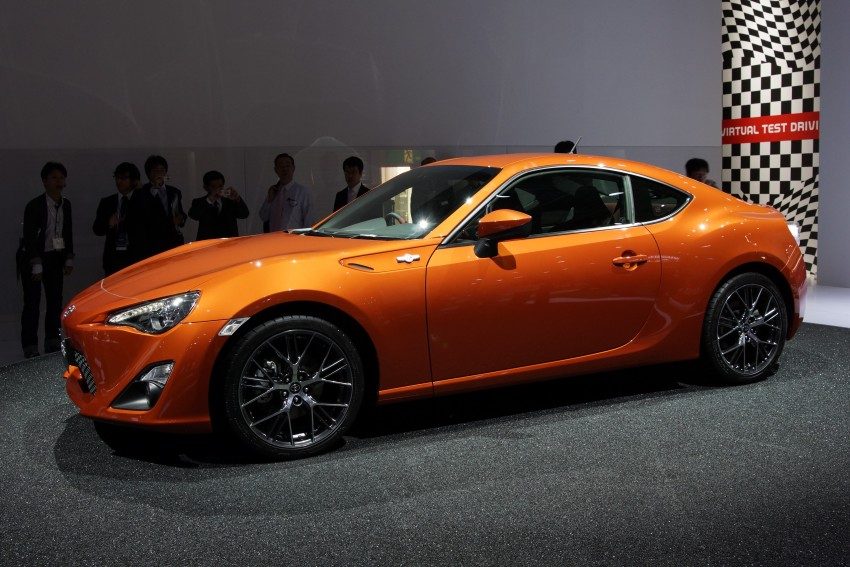 Tokyo 2011 Live: Toyota GT 86 Coupe unveiled! Image #78640