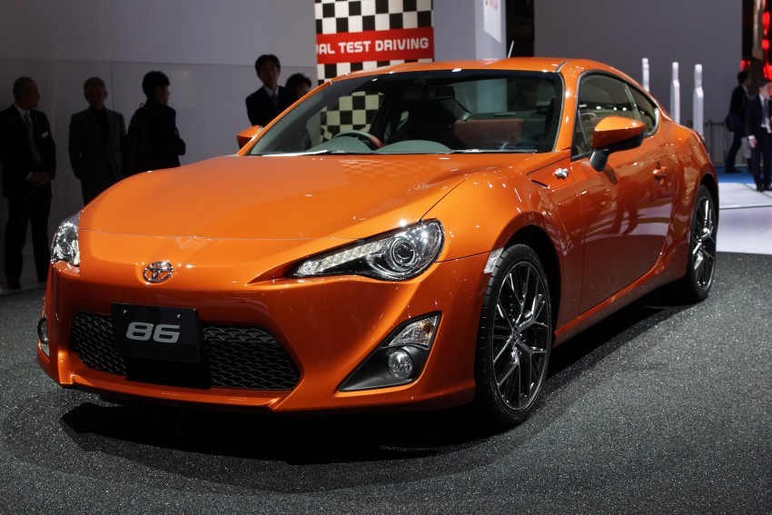 Tokyo 2011 Live: Toyota GT 86 Coupe unveiled! Image #78641