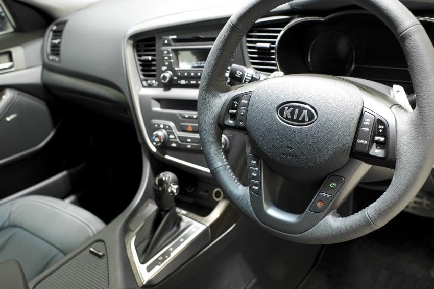 Kia Optima K5 2.0 launched – RM143,888 on-the-road Image #81530