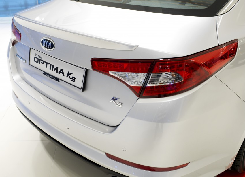 Kia Optima K5 2.0 launched – RM143,888 on-the-road Image #81538