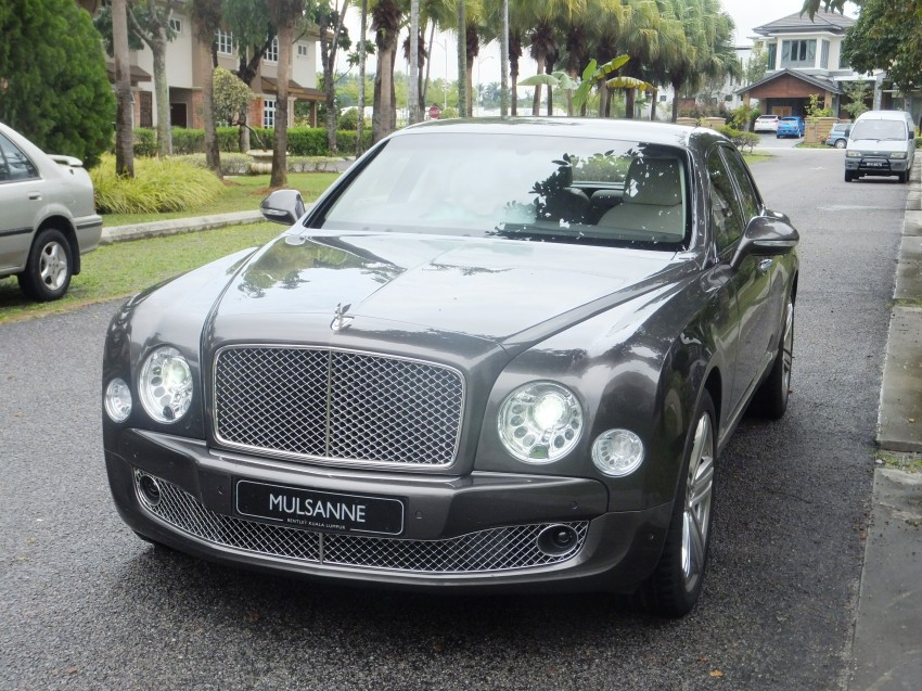 Bridging the generation gap: Bentley Continental GTC V8 and Mulsanne taken for a highway spin! Image #127408