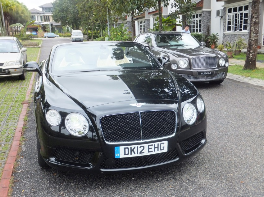 Bridging the generation gap: Bentley Continental GTC V8 and Mulsanne taken for a highway spin! Image #127419