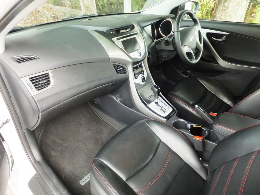 Hyundai Elantra MD 1.8 Premium test drive review Image #134989