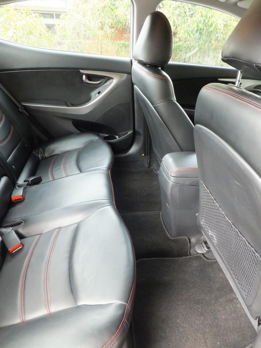 Hyundai Elantra MD 1.8 Premium test drive review Image #134992