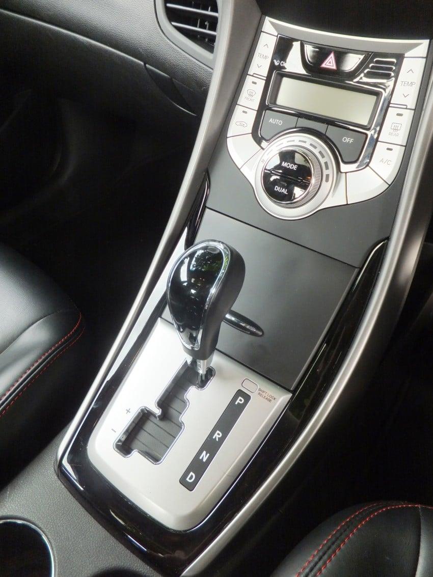 Hyundai Elantra MD 1.8 Premium test drive review Image #134993