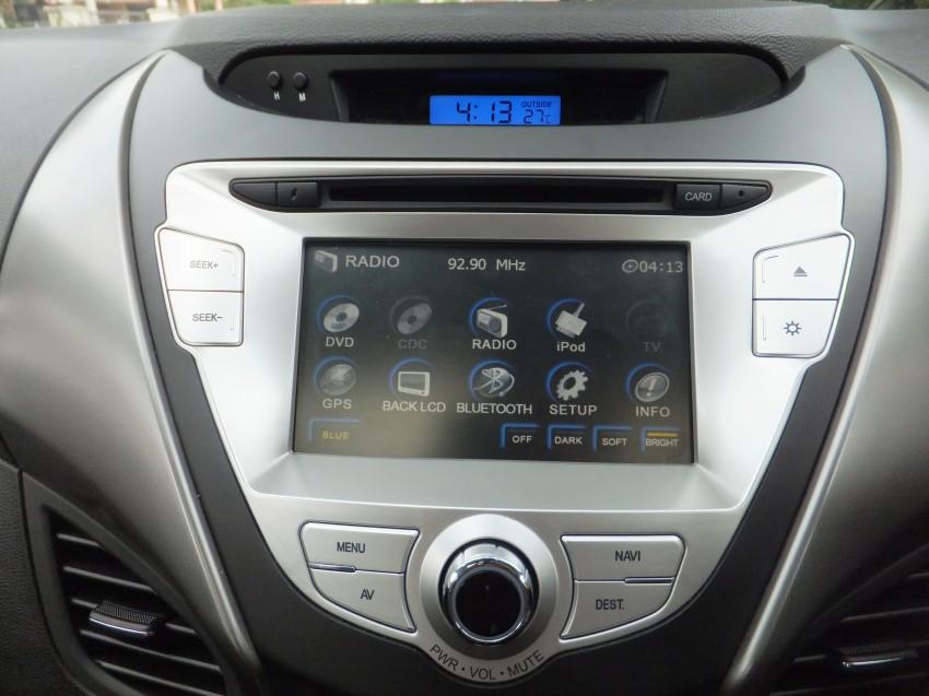Hyundai Elantra MD 1.8 Premium test drive review Image #135000