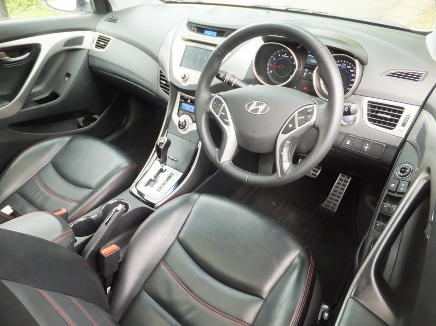Hyundai Elantra MD 1.8 Premium test drive review Image #135002