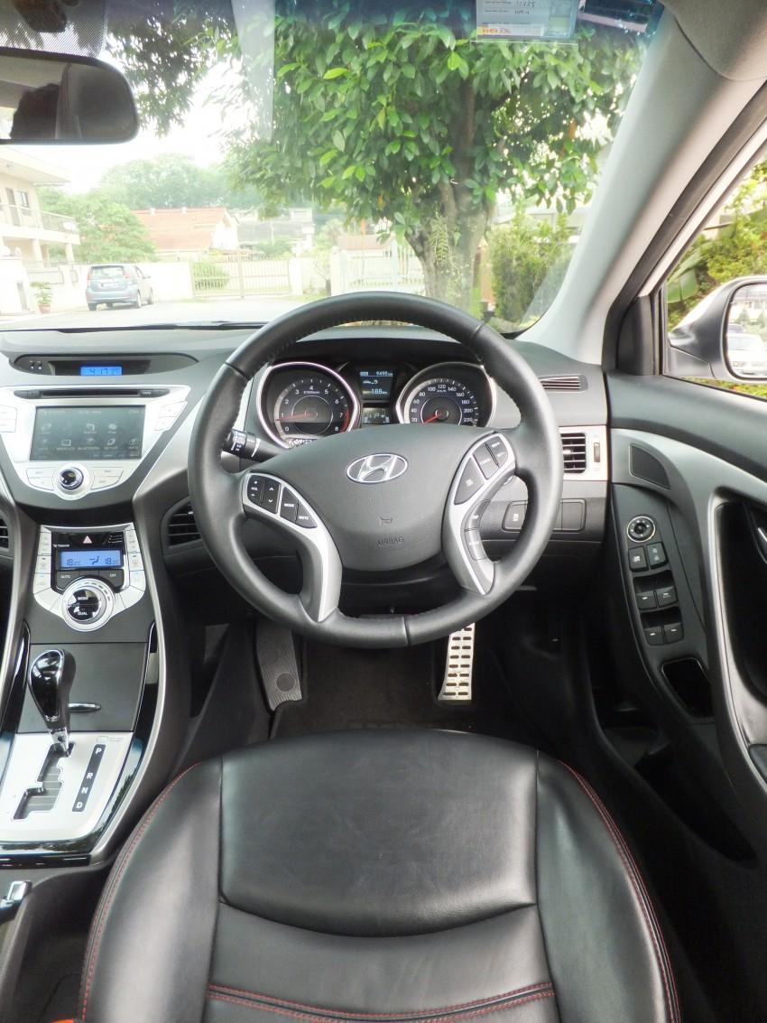 Hyundai Elantra MD 1.8 Premium test drive review Image #135004