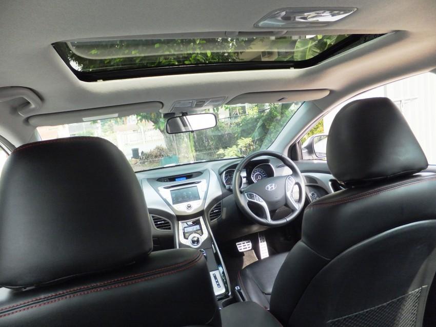 Hyundai Elantra MD 1.8 Premium test drive review Image #135010