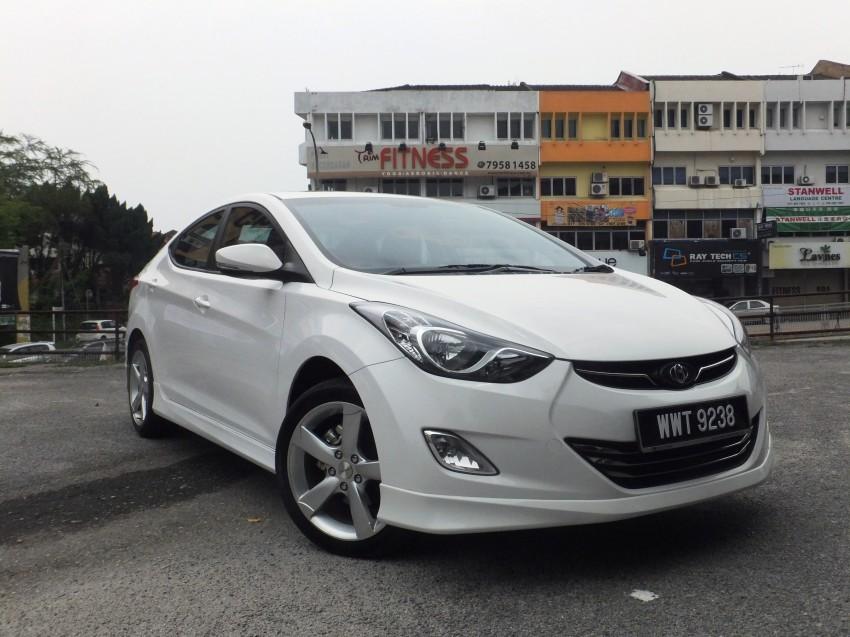 Hyundai Elantra MD 1.8 Premium test drive review Image #135025