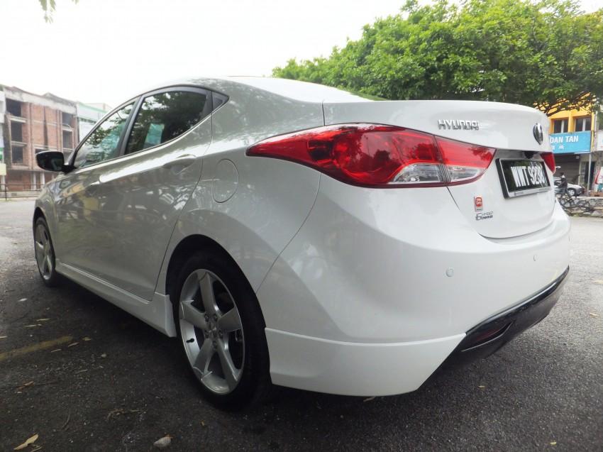 Hyundai Elantra MD 1.8 Premium test drive review Image #135031