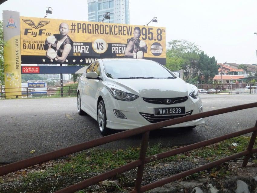 Hyundai Elantra MD 1.8 Premium test drive review Image #135032
